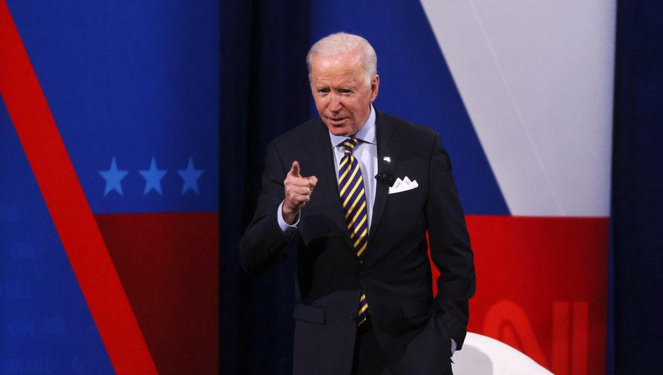 US-Präsident Joe Biden in Milwaukee
