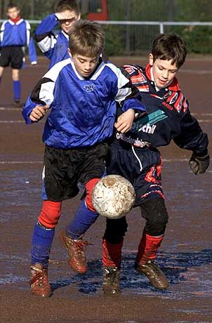 Nachwuchs-Kicker: Wer früh im Jahr geboren wird, hat in der Talentförderung deutlich bessere Chancen