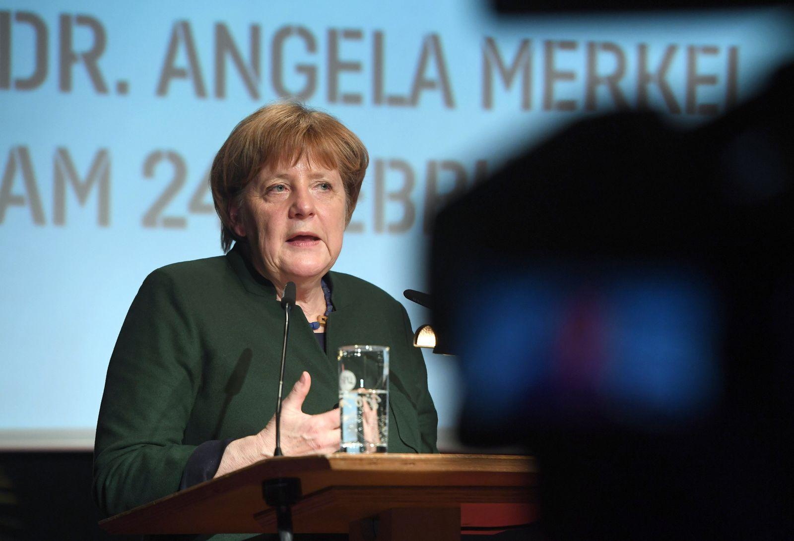 Angela Merkel in Stralsund