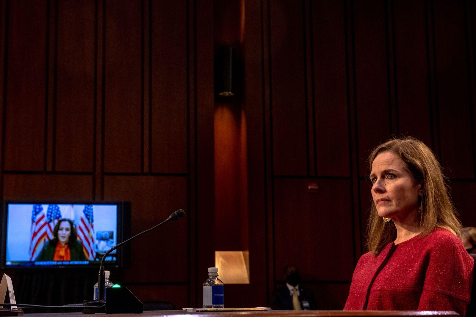 Senate confirmation hearings on Supreme Court nominee Coney Barrett
