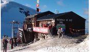 Plötzlich steht die Hütte in der Schweiz