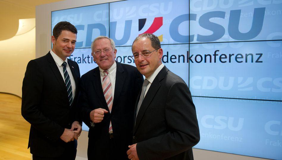 """Fraktionschefs Mohring, Flath, Wagner: """"Die AfD sollte ernst genommen werden"""""""