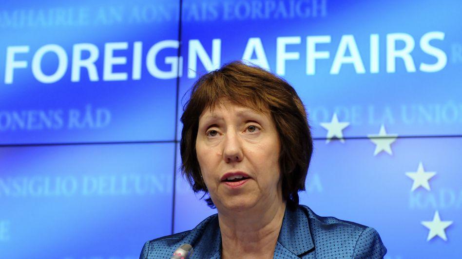 """EU-Außenbeauftragte Ashton: """"Hoffnung auf Fortschritte"""""""