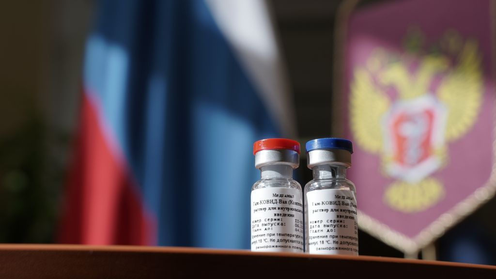 Russia, first registered vaccine against coronavirus, Moscow, Russian Federation - 11 Aug 2020