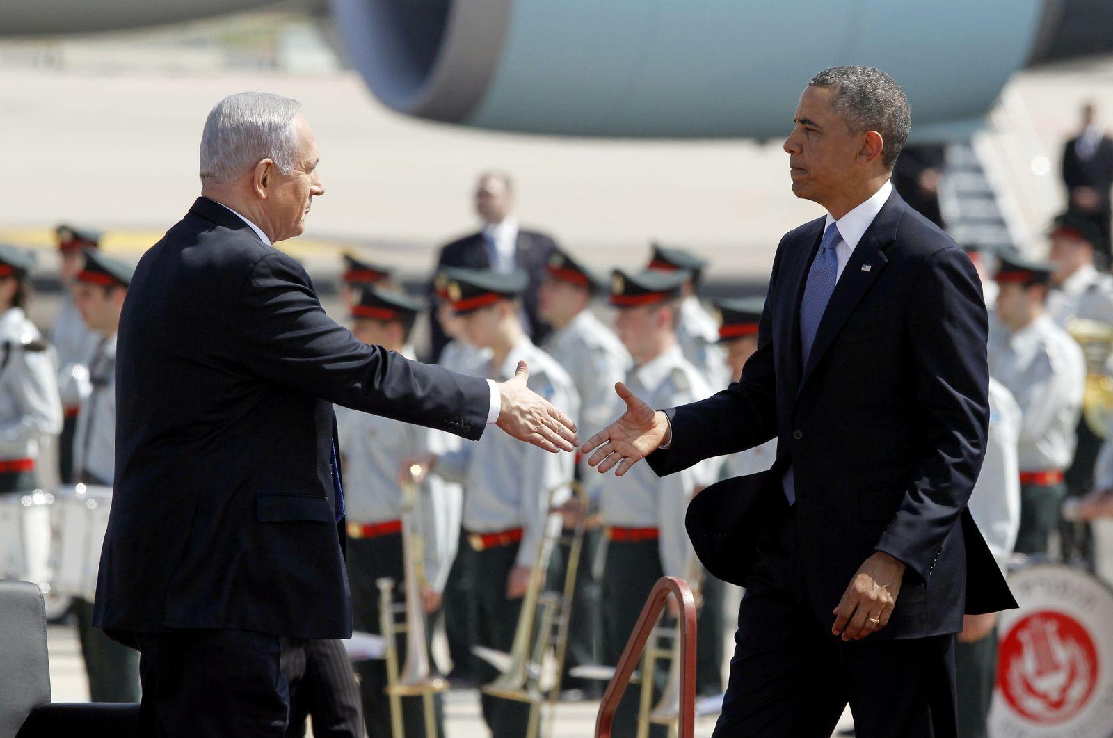 Netanyahu/ Obama