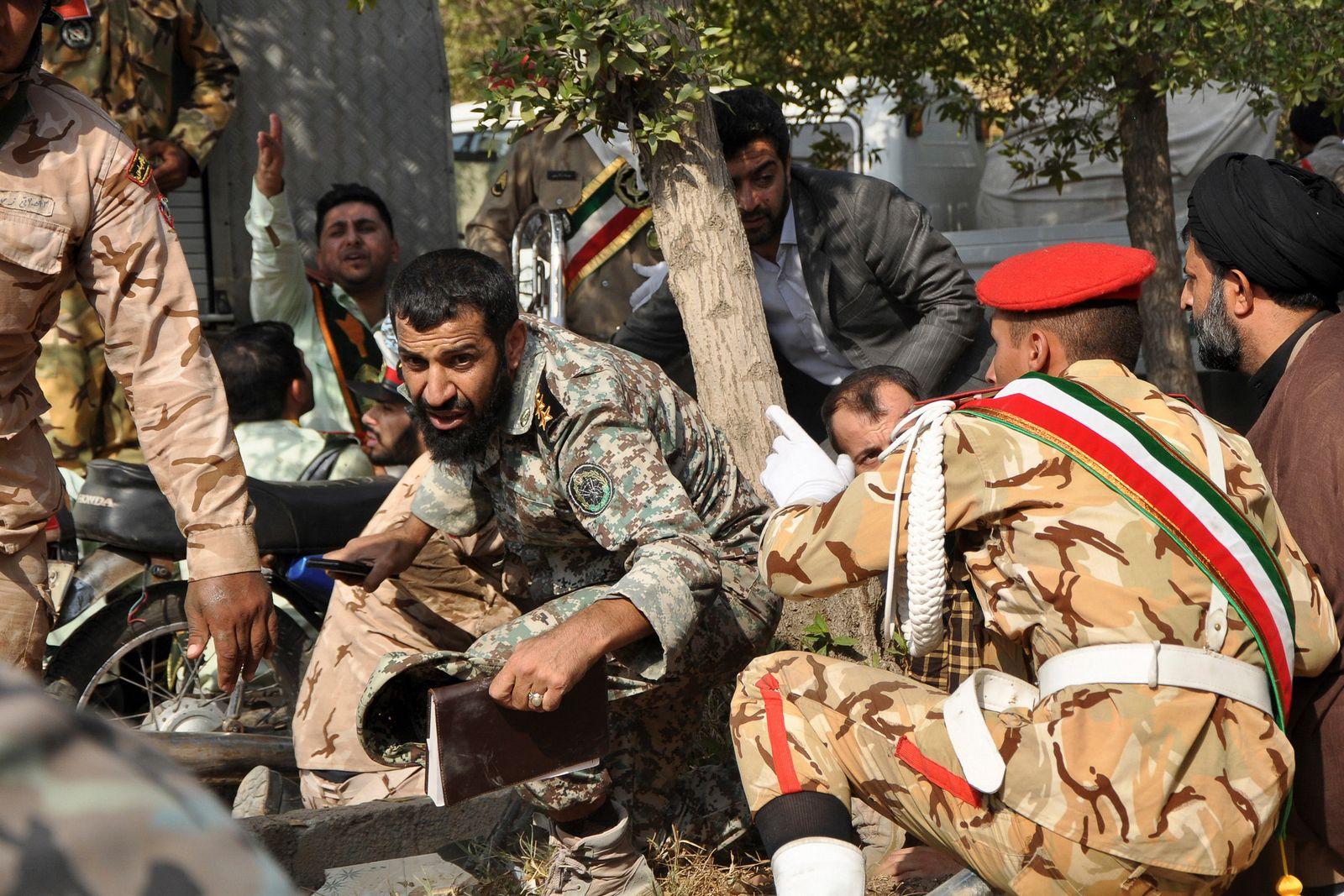 Angriff auf Militärparade im Iran