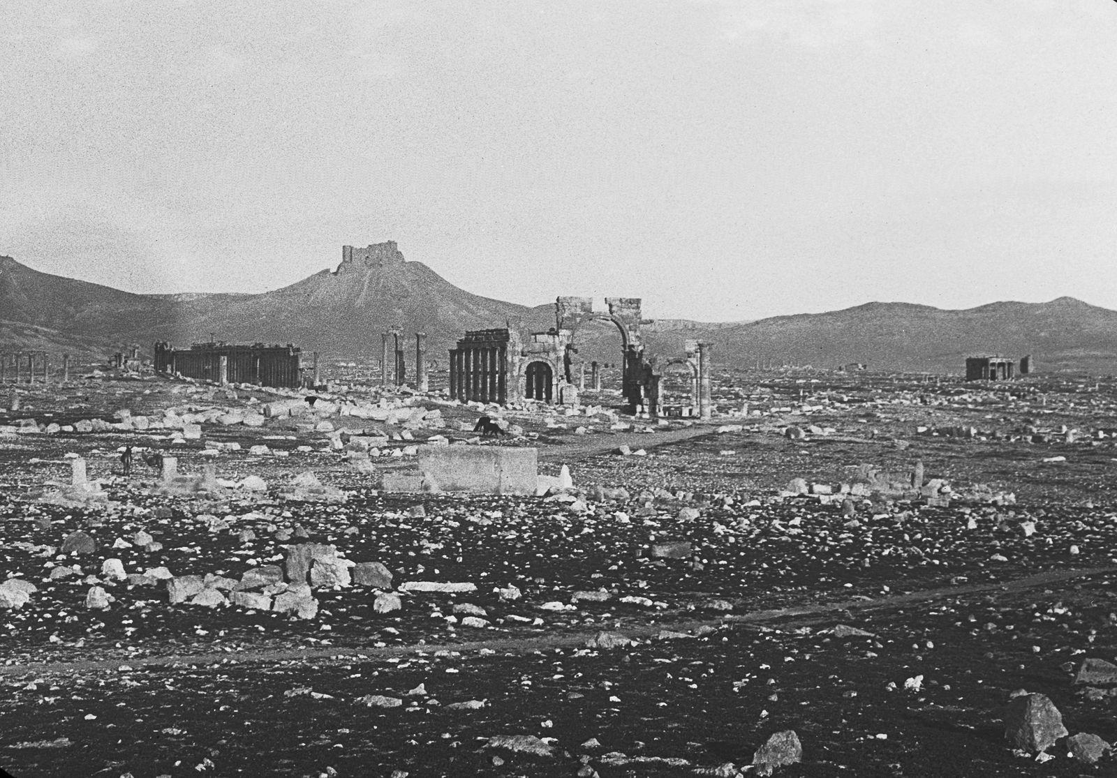 Historische Reisebilder - Palmyra