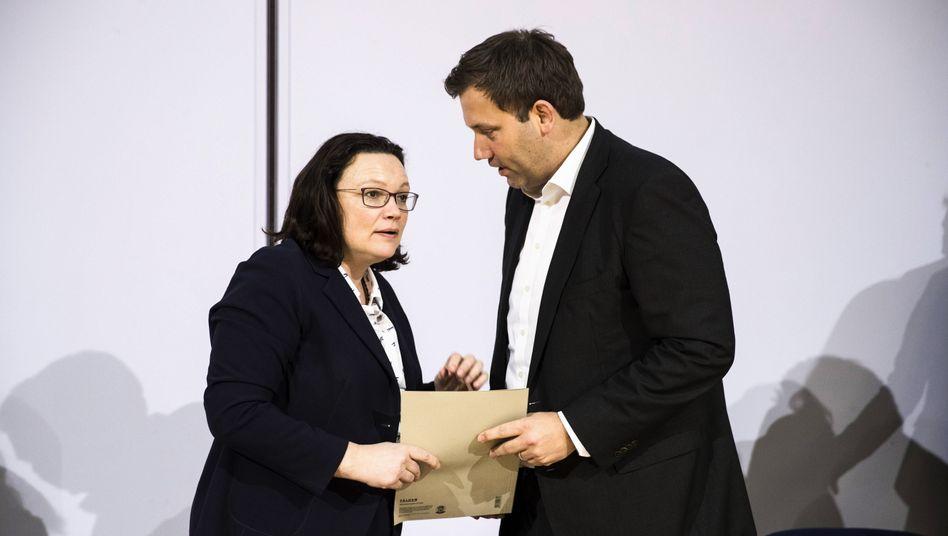 Andrea Nahles, Lars Klingbeil