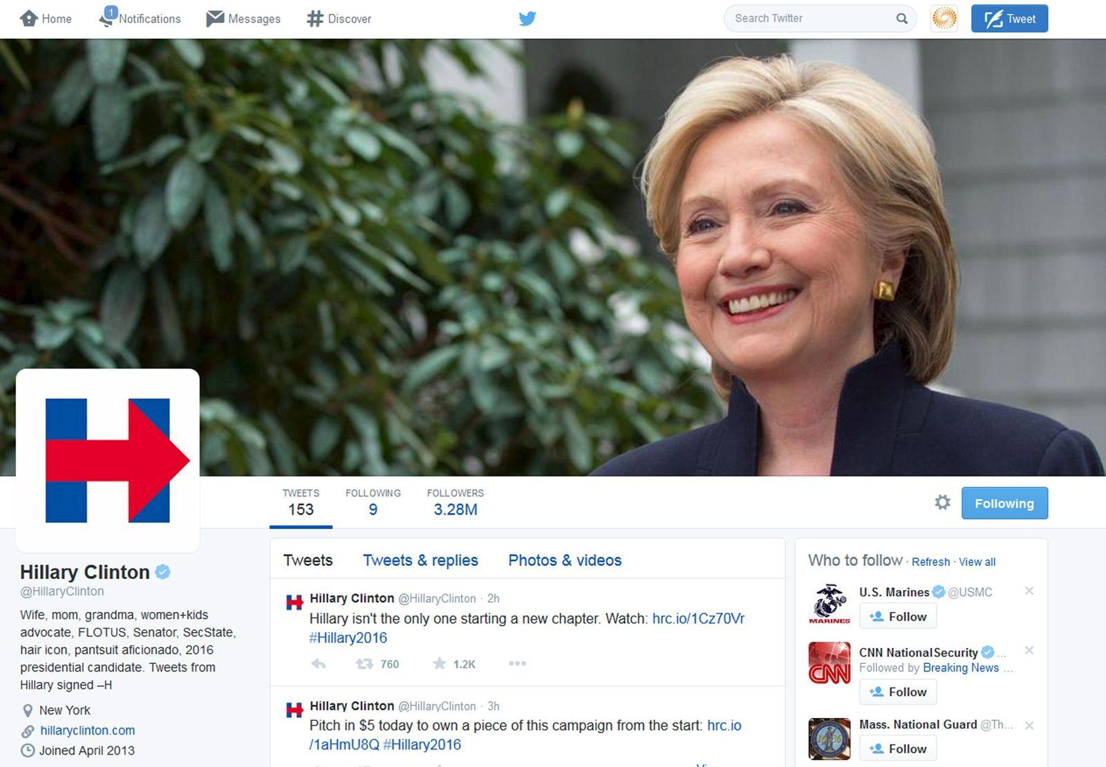 Hillary Clinton/Logo