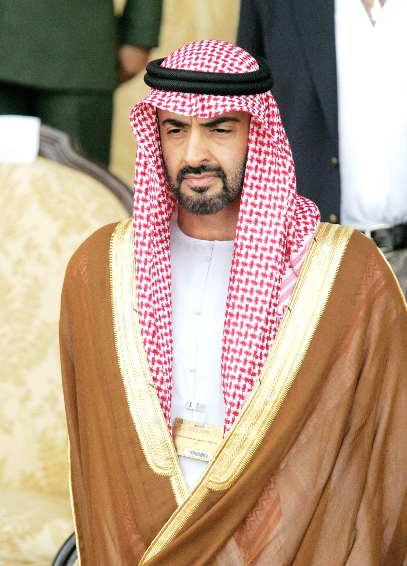 Abu-Dhabi-Kronprinz bin Zayed