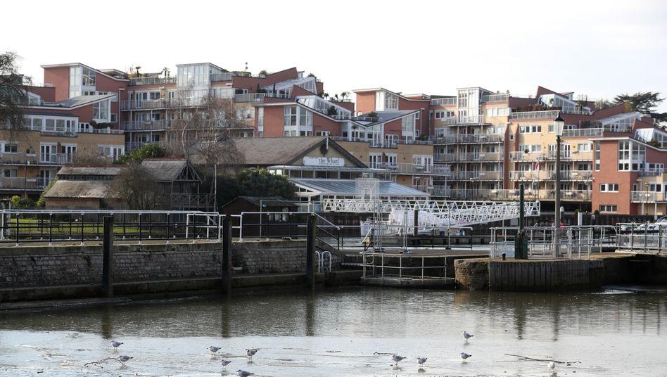 Die Themse am Teddington Lock