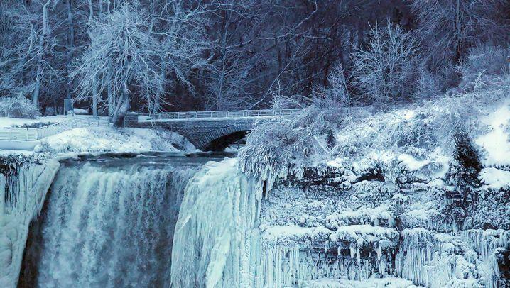 Niagarafälle: Eiskalt erwischt