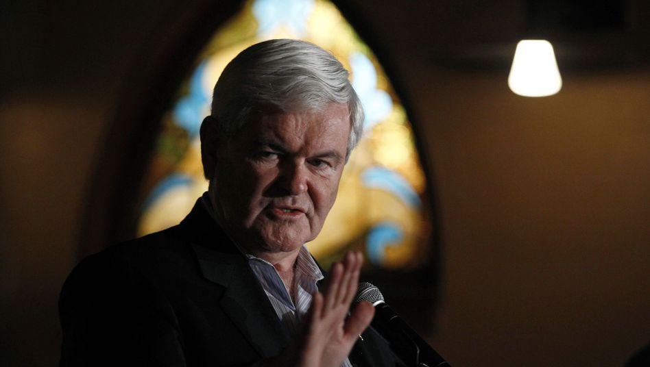 Republikaner Newt Gingrich: Der Republikaner träumt von Mond-Basis
