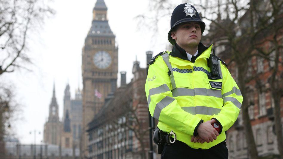 Polizist in Westminster