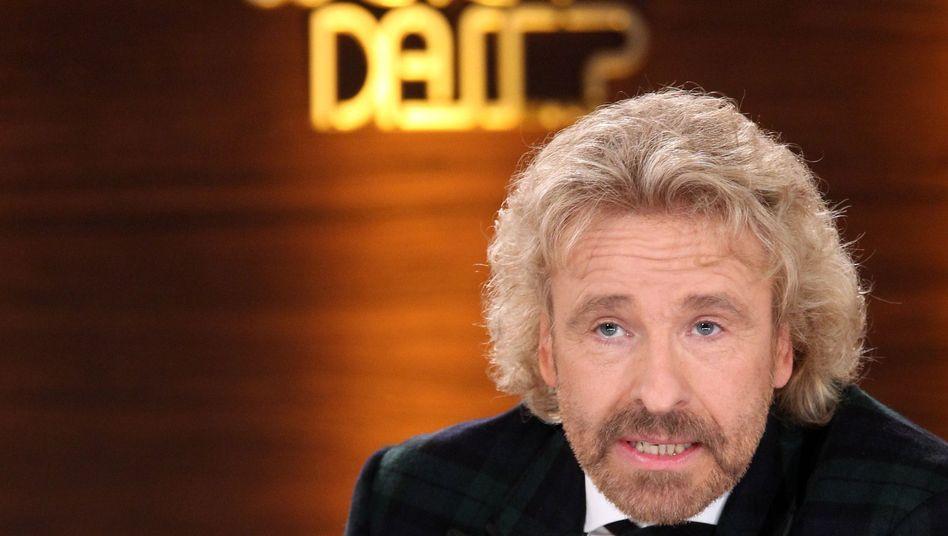 """Moderator Gottschalk: Fernsehzukunft """"definitiv bei den Öffentlich-Rechtlichen"""""""