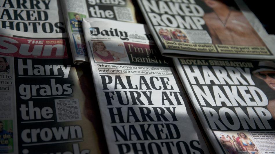 Britische Boulevardblätter: Abhören gehörte zum Tagesgeschäft