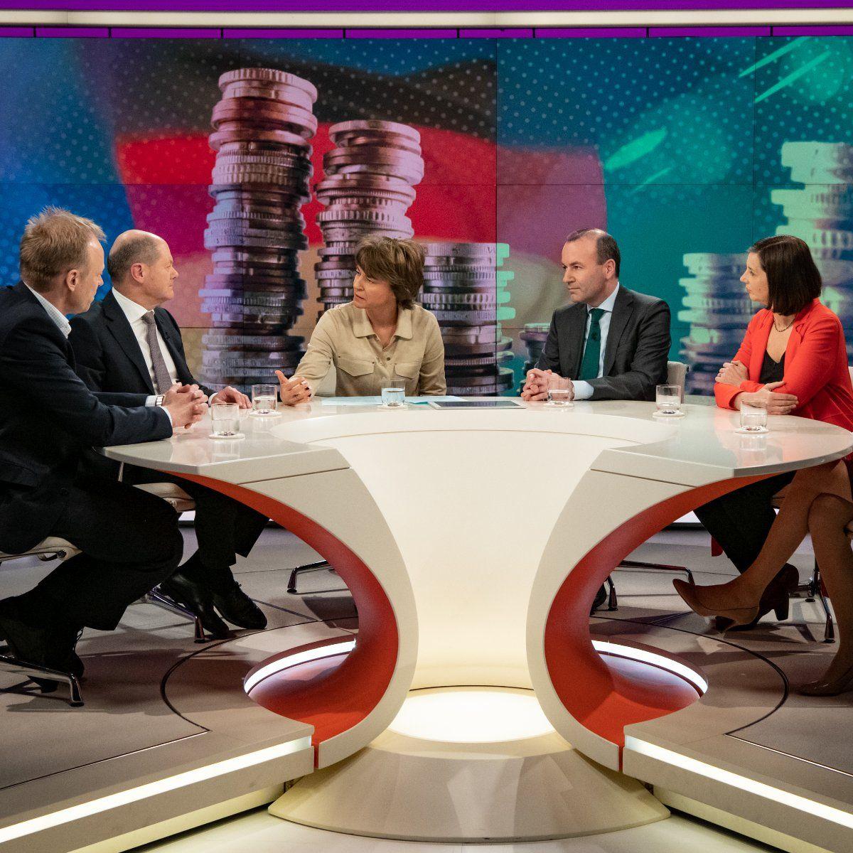 """EINMALIGE VERWENDUNG Sendung """"maybrit illner"""" 21.02.2019"""