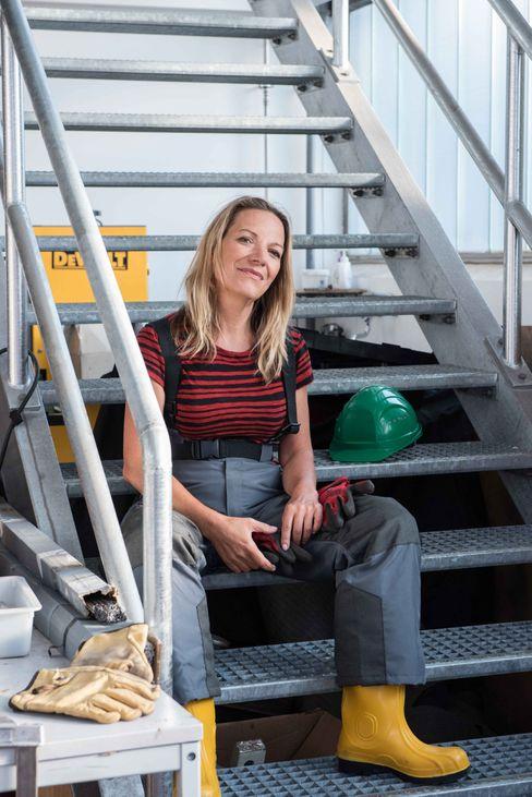 Prof. Dr. Antje Boetius erhielt für ihr Engagement zum Schutz der Ozeane das Bundesverdienstkreuz.