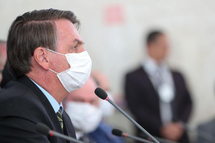 Brasiliens Machthaber Bolsonaro: Die Integrität des brasilianischen Staats steht auf dem Spiel