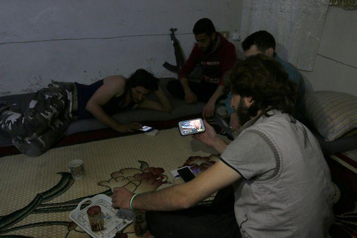 Rebellen in Aleppo verfolgen Trumps Rede