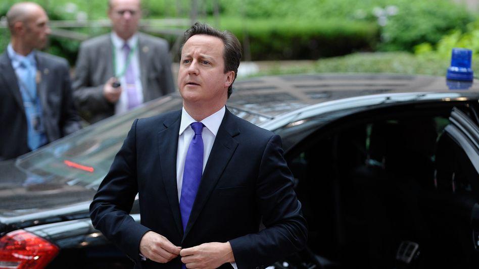 """Britischer Premier Cameron: """"Zu hohe Kosten, zu viel Bürokratie, zu viel Einmischung"""""""