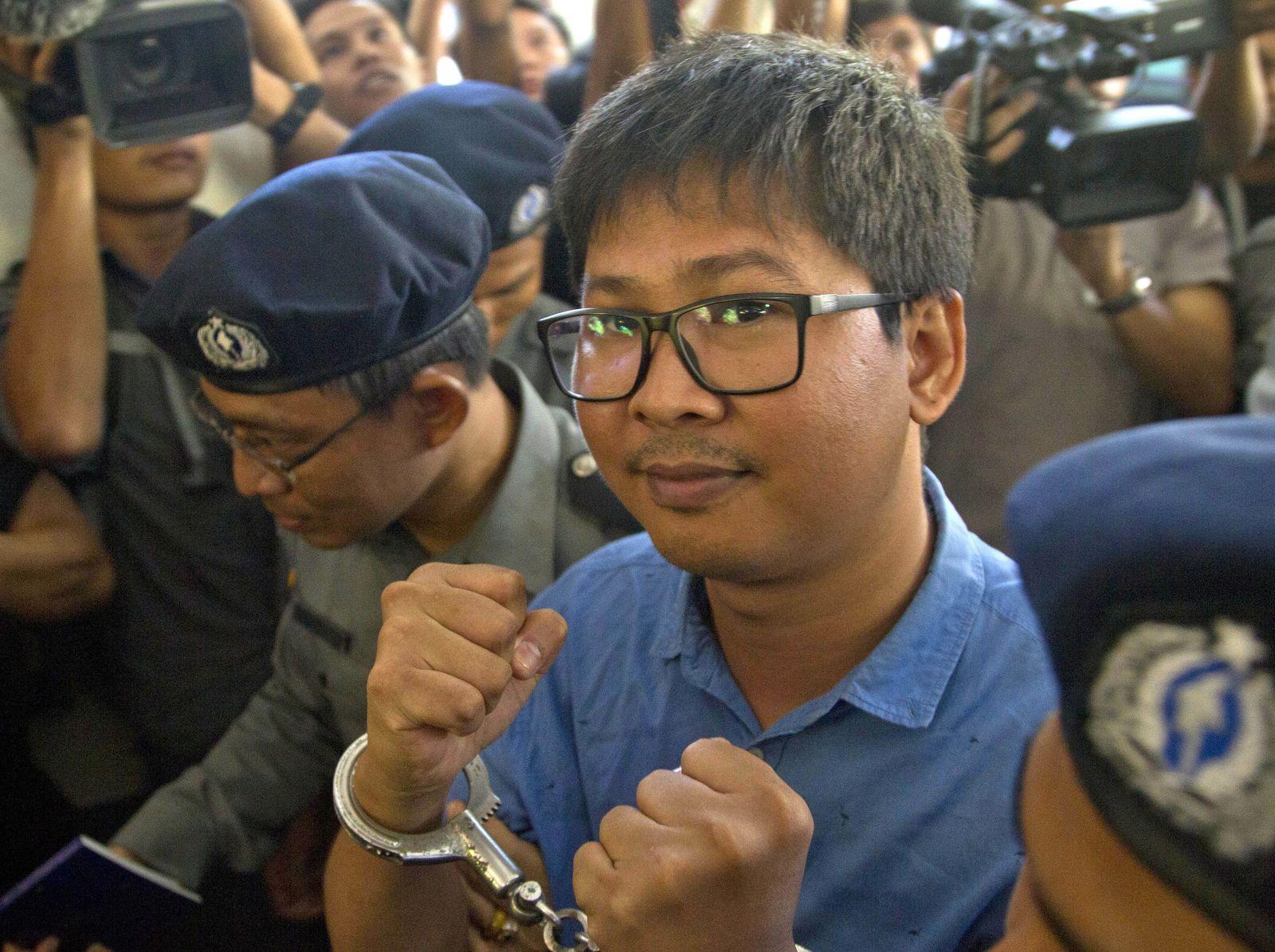 Myanmar/Verhaftete Reuters-Reporter/ Rohingya