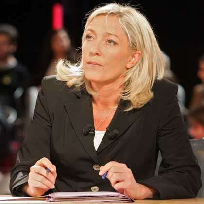 Marine Le Pen may be preparing to take over the far-right National Front from her father Jean-Marie.