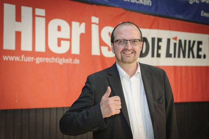 Linken-Bundestagsabgeordneter Thomas Lutze