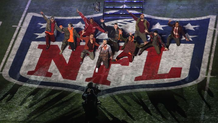 Super-Bowl-Halbzeitshow: Timberlakes violette Hommage