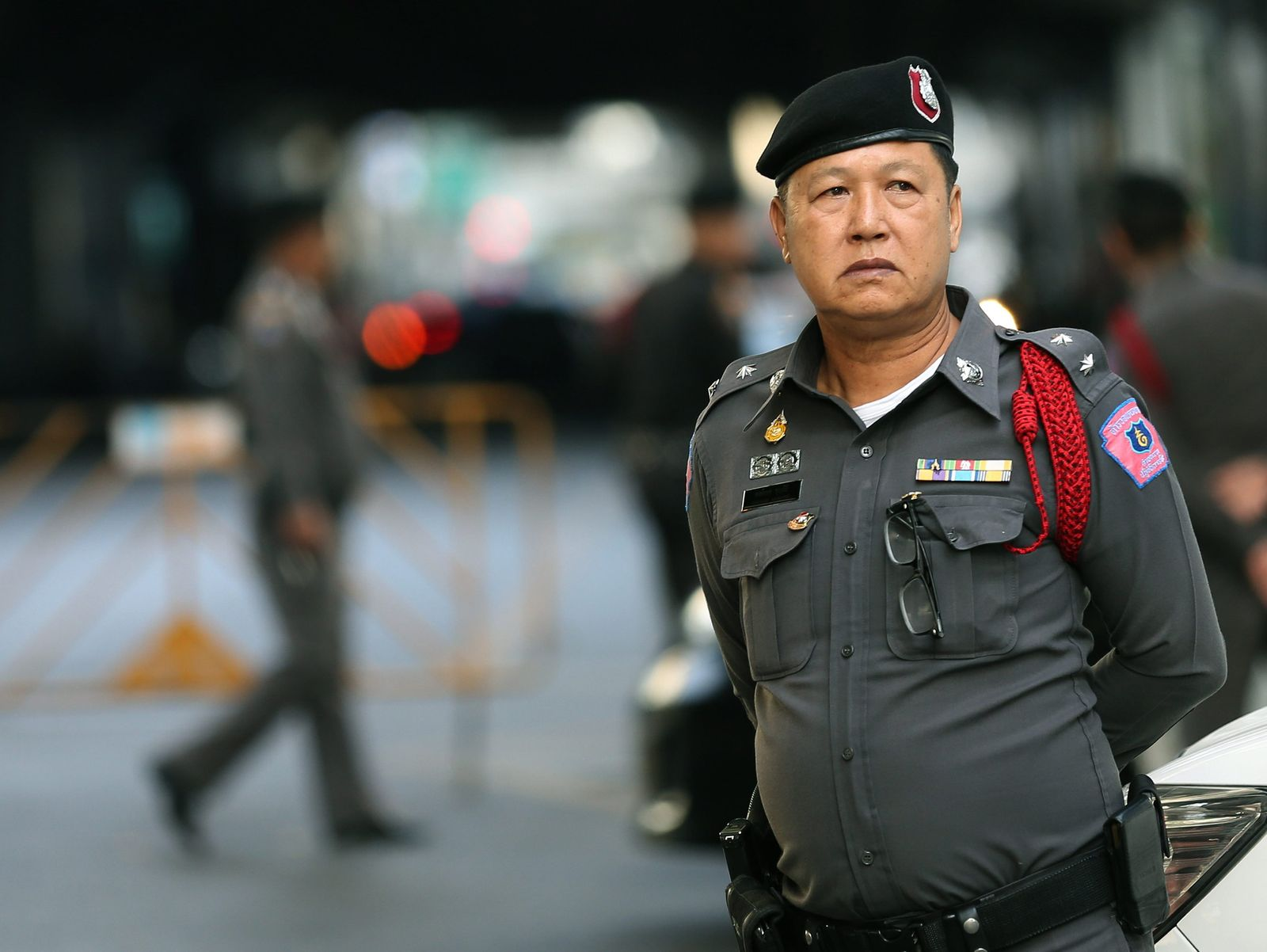 Bangkok Polizist