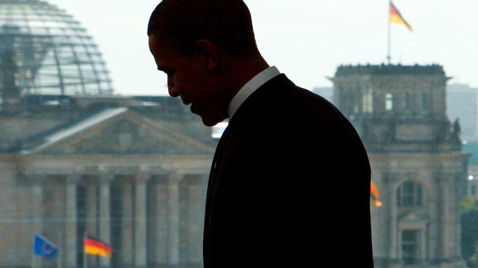"""US-Präsident Obama in Berlin (2008): """"Europa verliert an Bedeutung"""""""