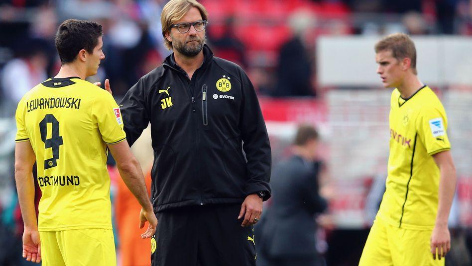 BVB-Trainer Klopp: Gegen Nürnberg verzockt