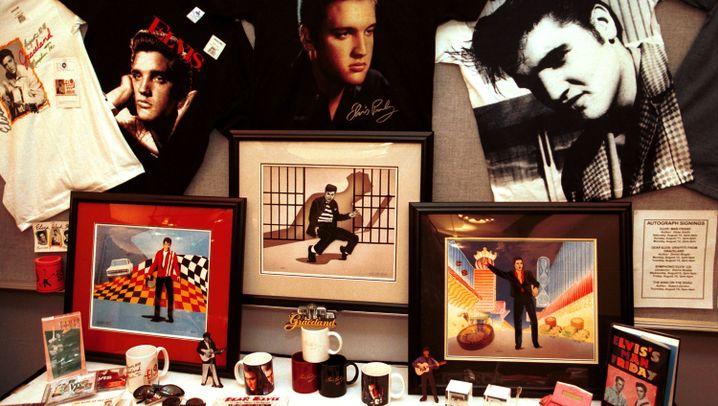 Elvis-Industrie: Schecks, Ertrag und Rock'n'Roll