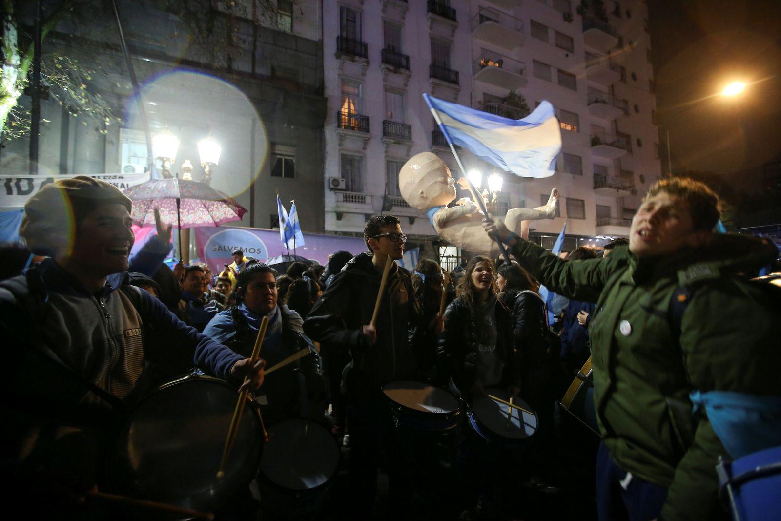 Argentinien Abtreibung