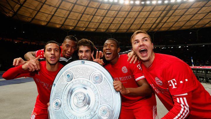 Bayerns Triumph gegen Hertha BSC: Meisterkür in der Hauptstadt