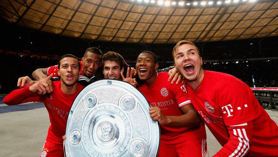 Vorzeitiger Titel für den FC Bayern: Die Alleinherrscher