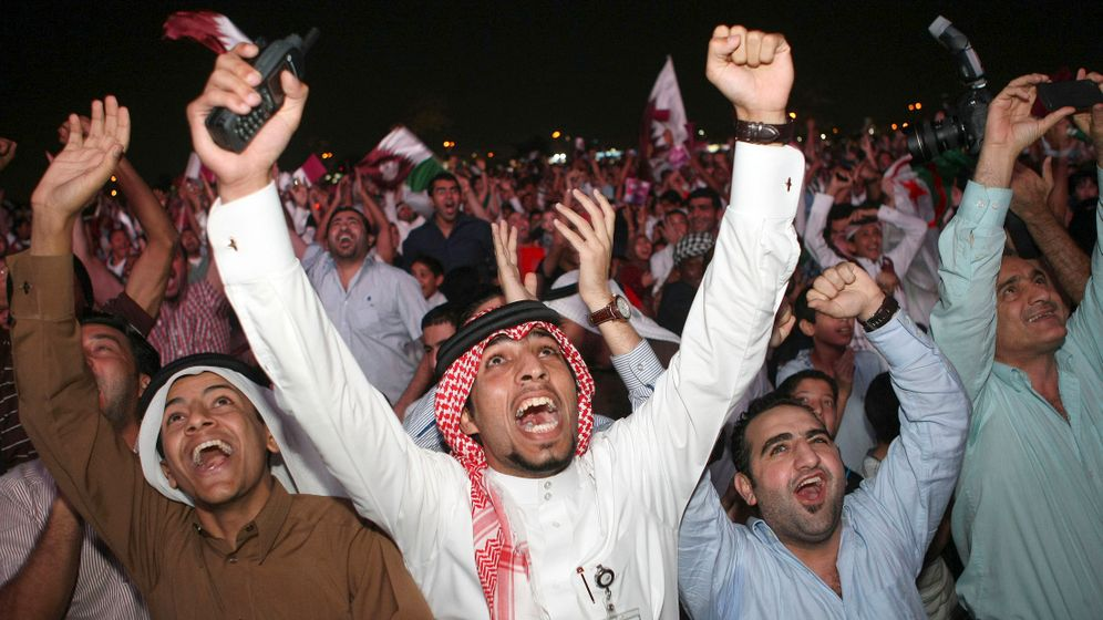 Photo Gallery: Qatar and Russia Celebrate