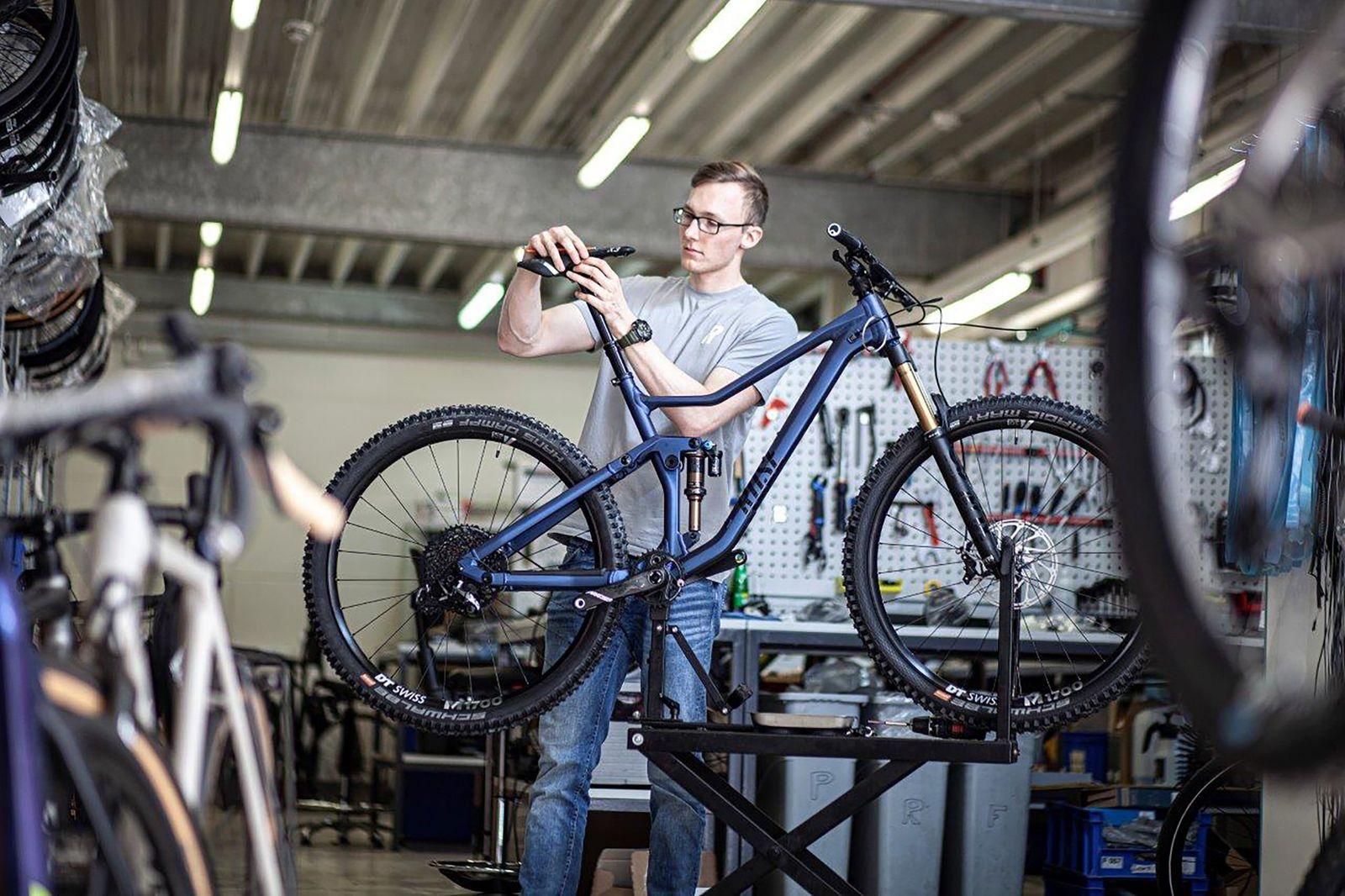 Produktion Mountainbike Rose Root Miller