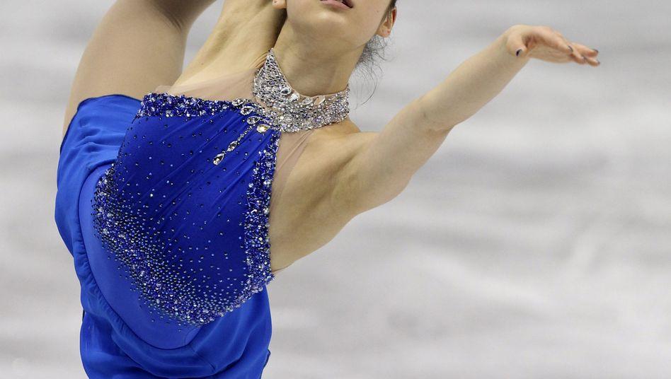 Eiskustläuferin Kim Yu-Na: Goldmedaille für eine perfekte Kür