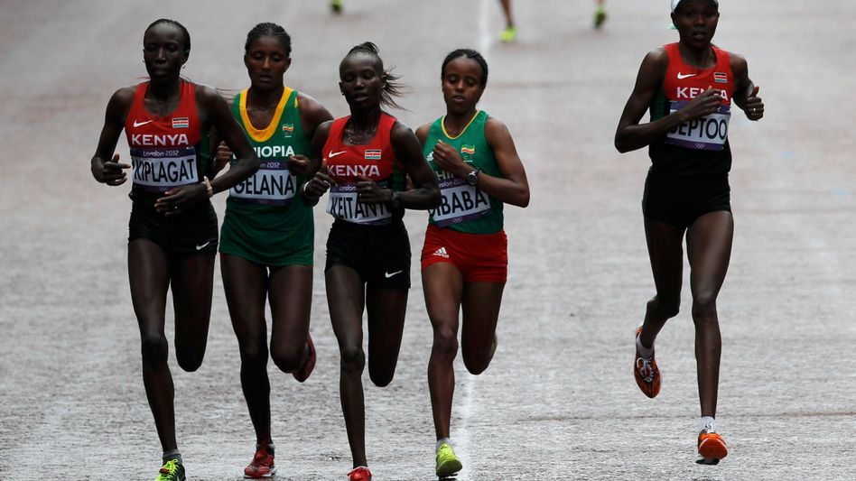 Kenianische Läufer: Zu wenig kontrolliert?