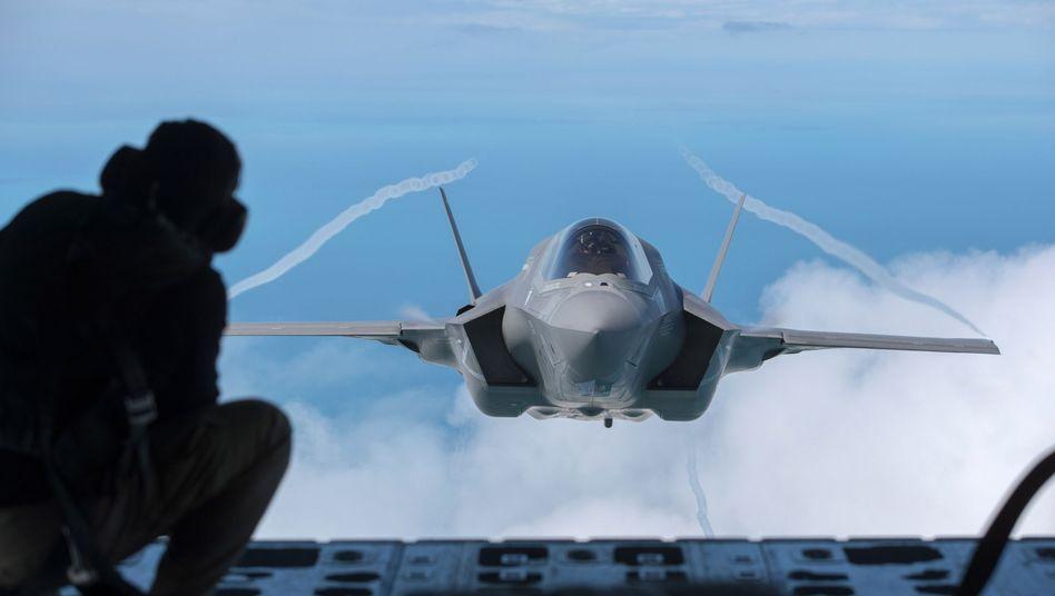 F-35-Kampfjet (Archivbild): Türkei sollte etwa hundert Flugzeuge bekommen - eigentlich