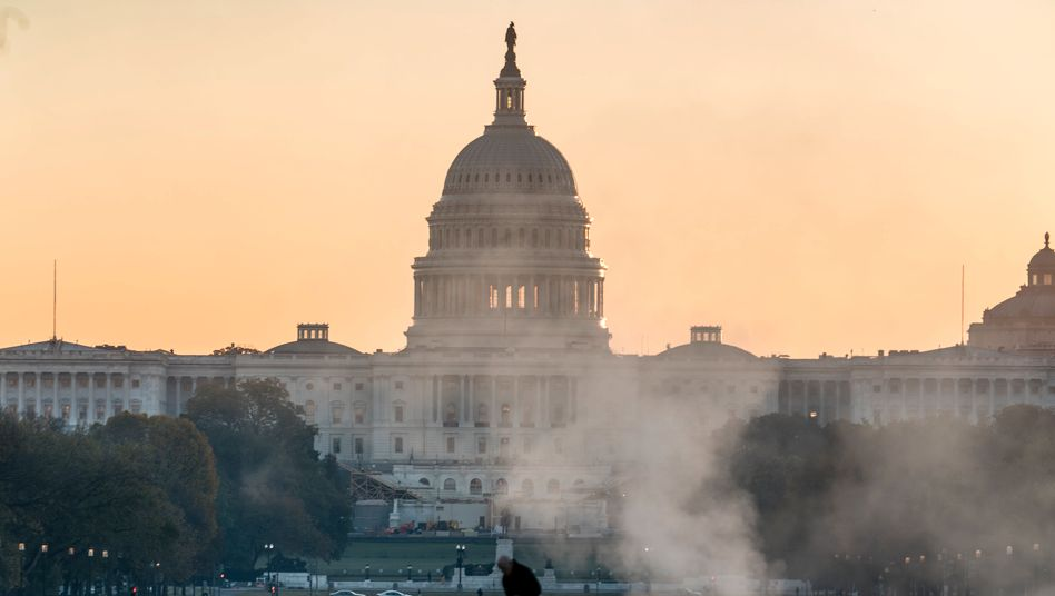 Das Kapitol in Washington, der Sitz des US-Senats