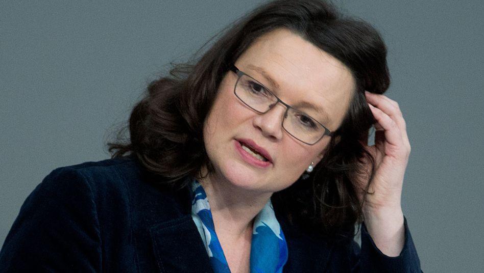 Arbeitsministerin Nahles: Verleger sollen beim Mindestlohn bevorzugt werden