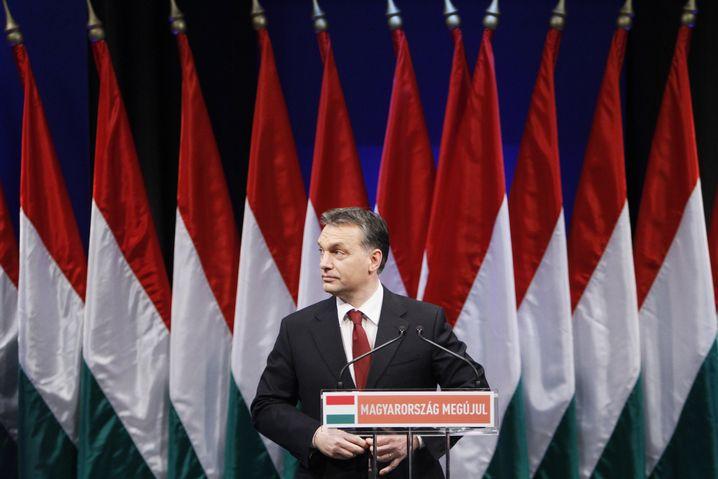 Ungarn-Premier Viktor Orbán: Rüge vom Uno-Chef