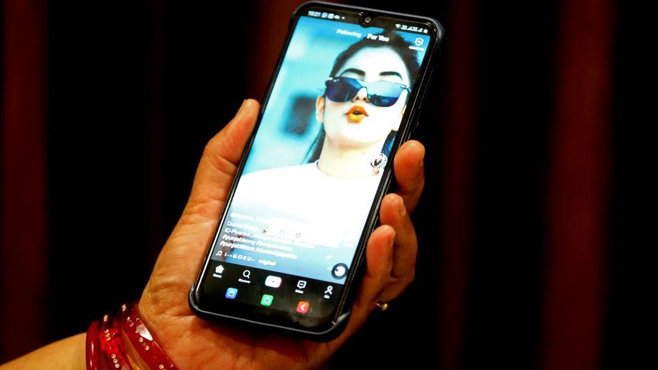 Rund 120 Millionen Inder nutzen die Video-App TikTok
