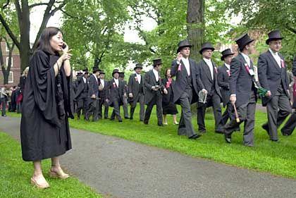 Harvard-Studenten