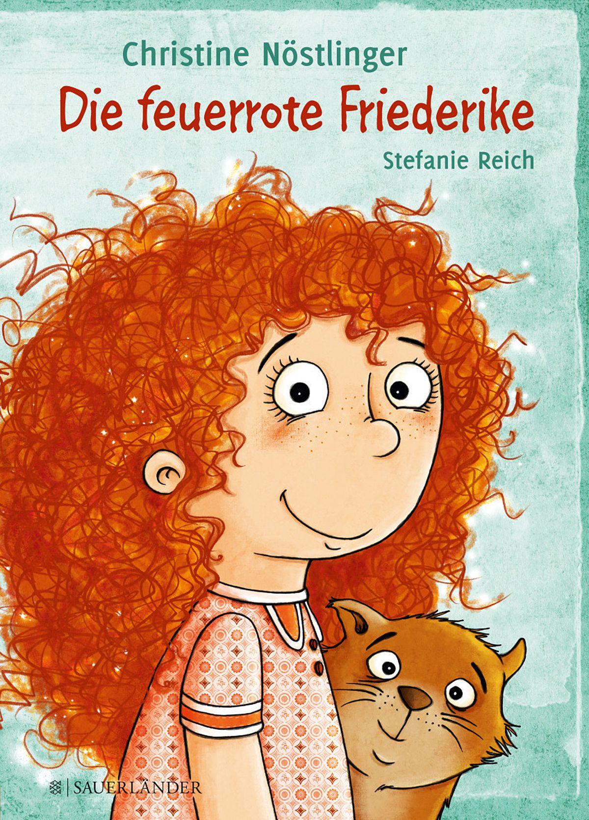 Christine Nöstlinger: Die feuerrote Friederike COVER
