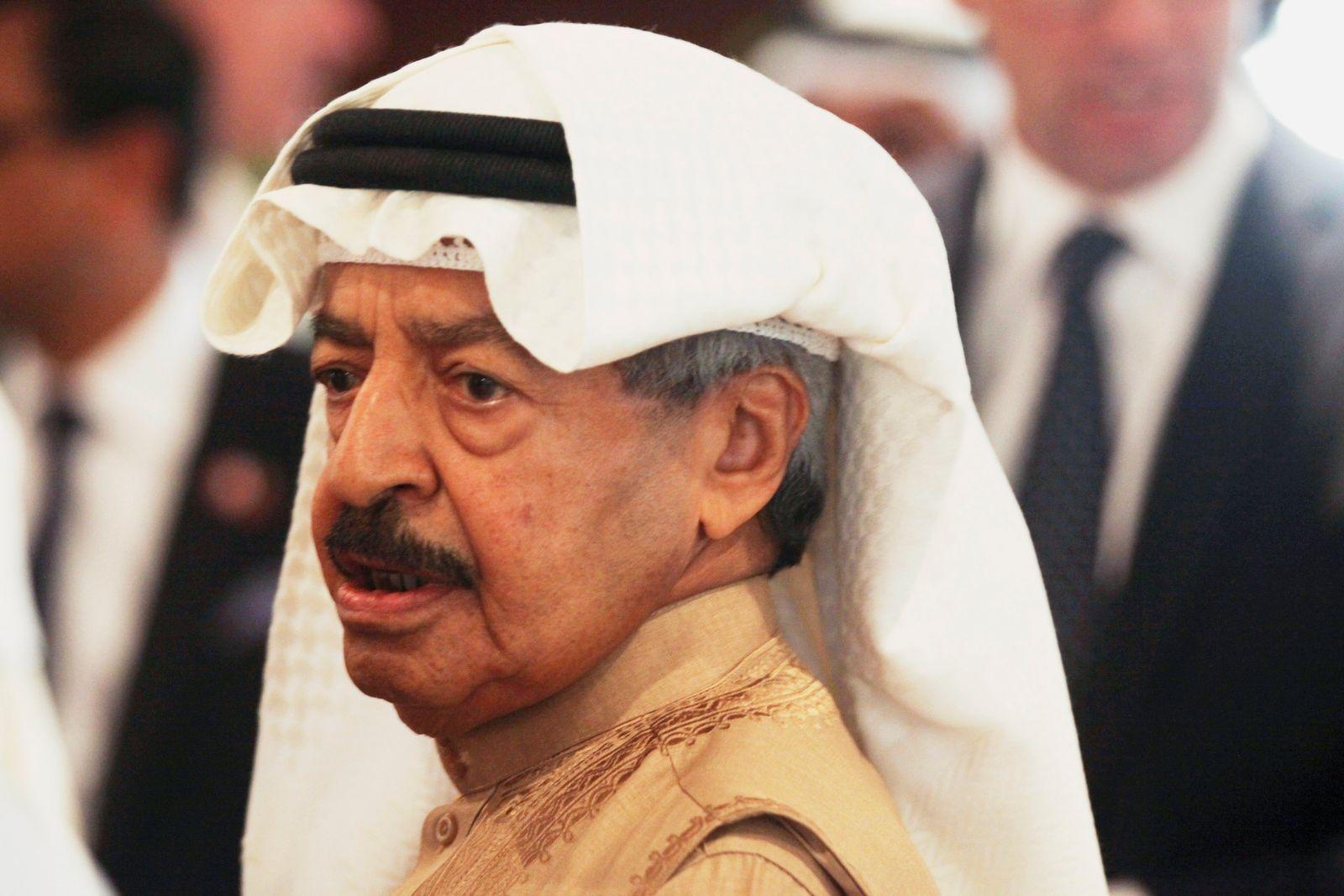 Bahrains langjähriger Premierminister gestorben