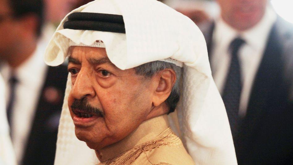 Prinz Chalifa bin Salman al-Chalifa (Archivfoto von 2016)