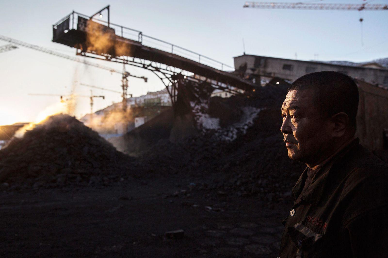 China / Kohlebergwerk